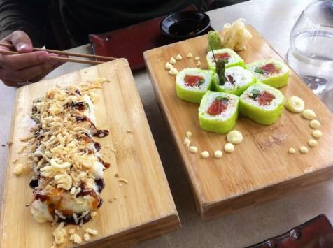 sushi samba meal