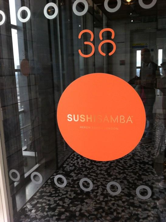 Sushi Samba entrance