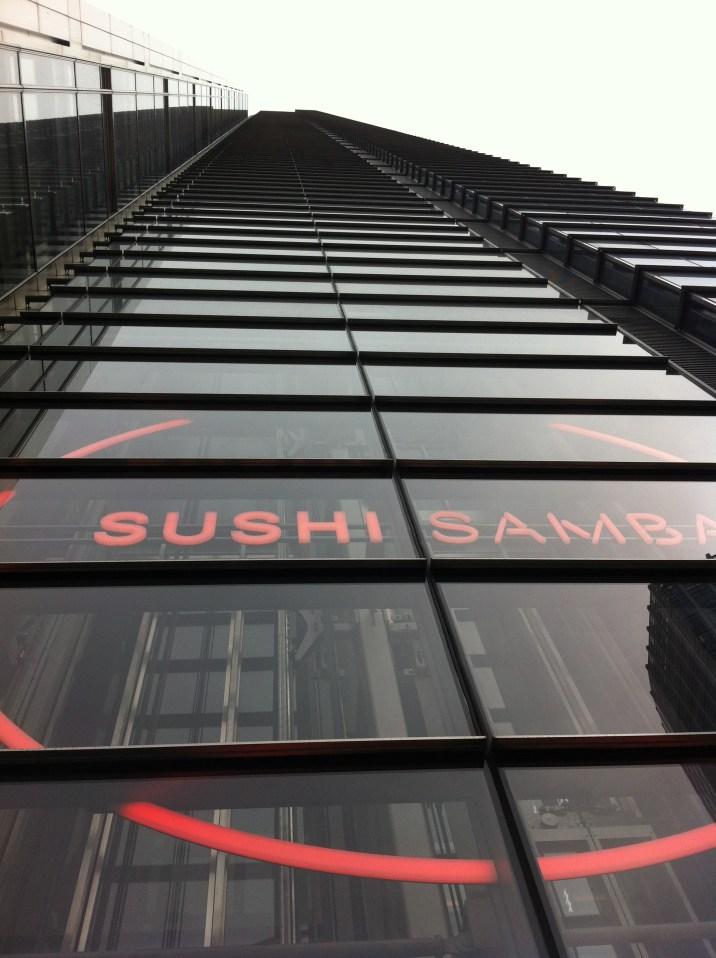 sushi samba tower view