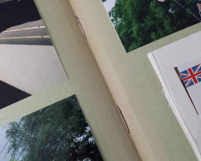 postcard album insert details