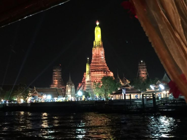 Apsara cruise with a view, Bangkok, Thailand