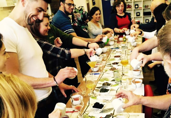 Tea Tasting at Himalayas tea in Stockport Manchester