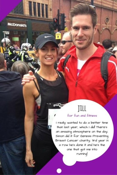 Great Manchester Runner - Jill