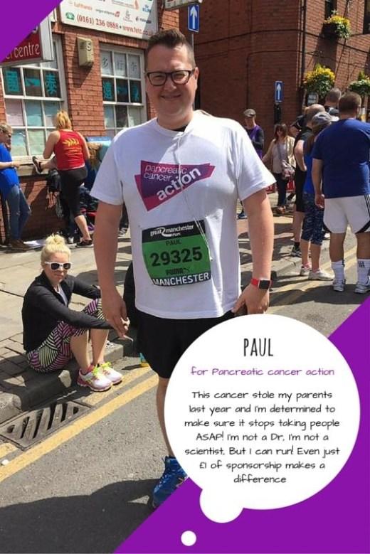 Great Manchester Runner - Paul