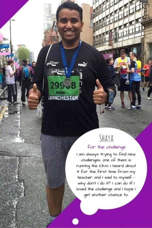 Great Manchester Runner - shaya
