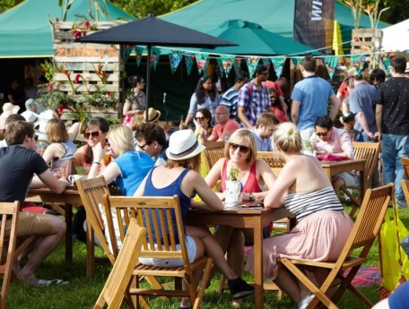 Eat and drink at Tatton Park Foodies Festival Manchester