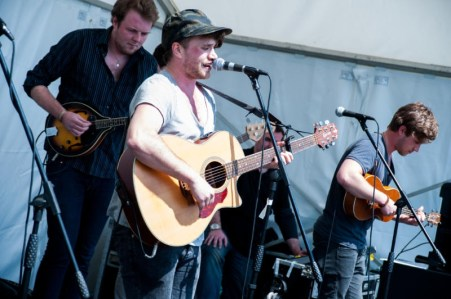 Live entertainment from local bands at Tatton Park Foodies Festival Manchester