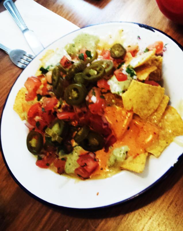 home sweet home nachos