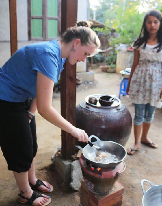 Cooking in Myanmar 2