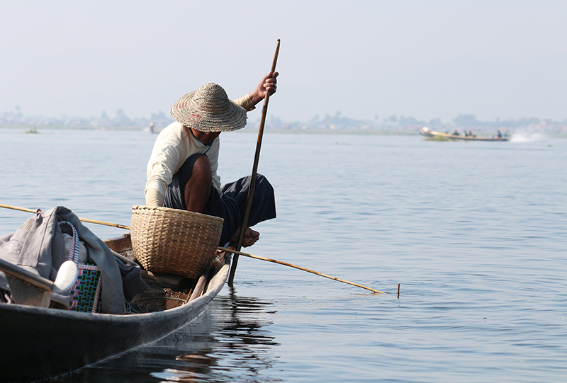 Fishermen of Inle Lake 4