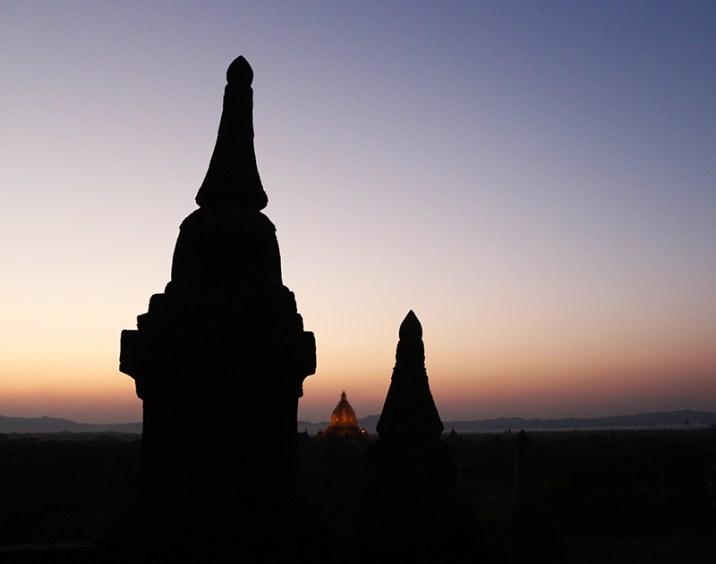 Myanmar Bagan temples sunset temple 30