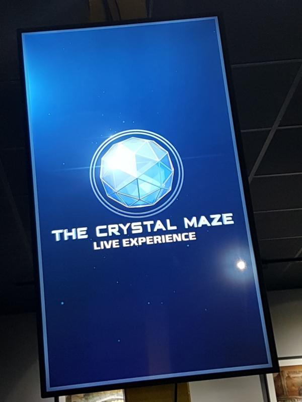 Crystal maze manchester screen