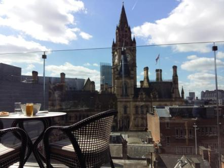 Viking stationery art party view from King Street Townhouse hotel