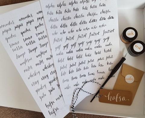 World Calligraphy Day 4