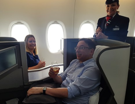 British Airways Business Class 28