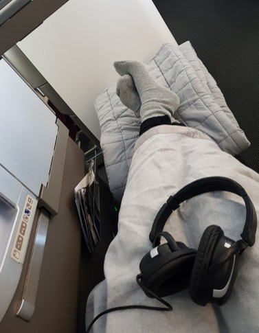 British Airways Business Class 8