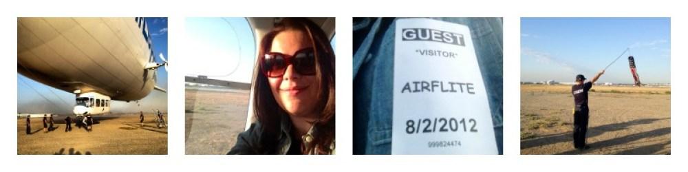 Jet-Set Family takes a ZeppMe Zeppelin Ride from Long Beach