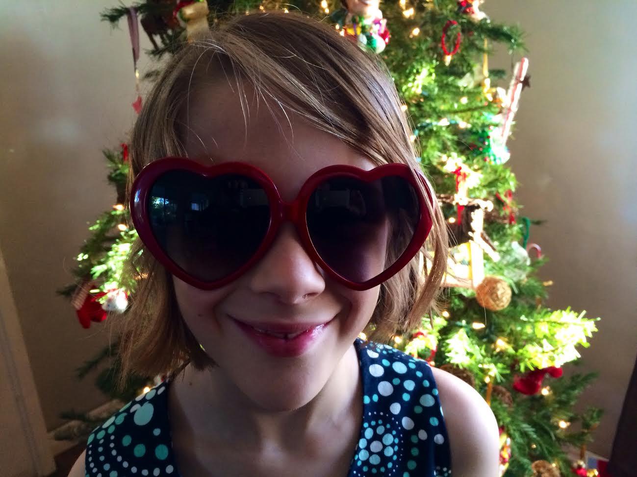 Taylor Swift Heart Sunglasses