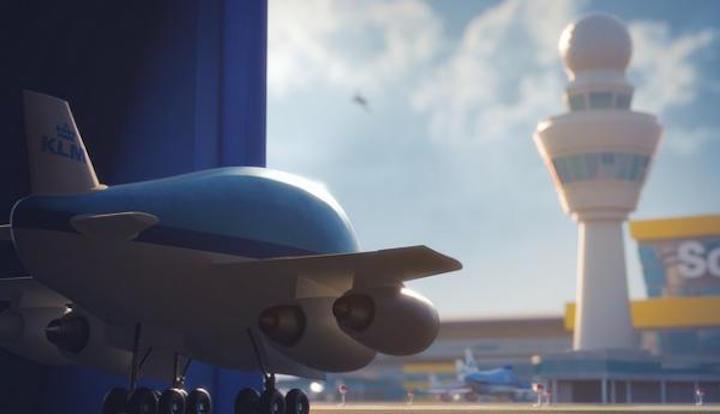 Bluey KLM Movie