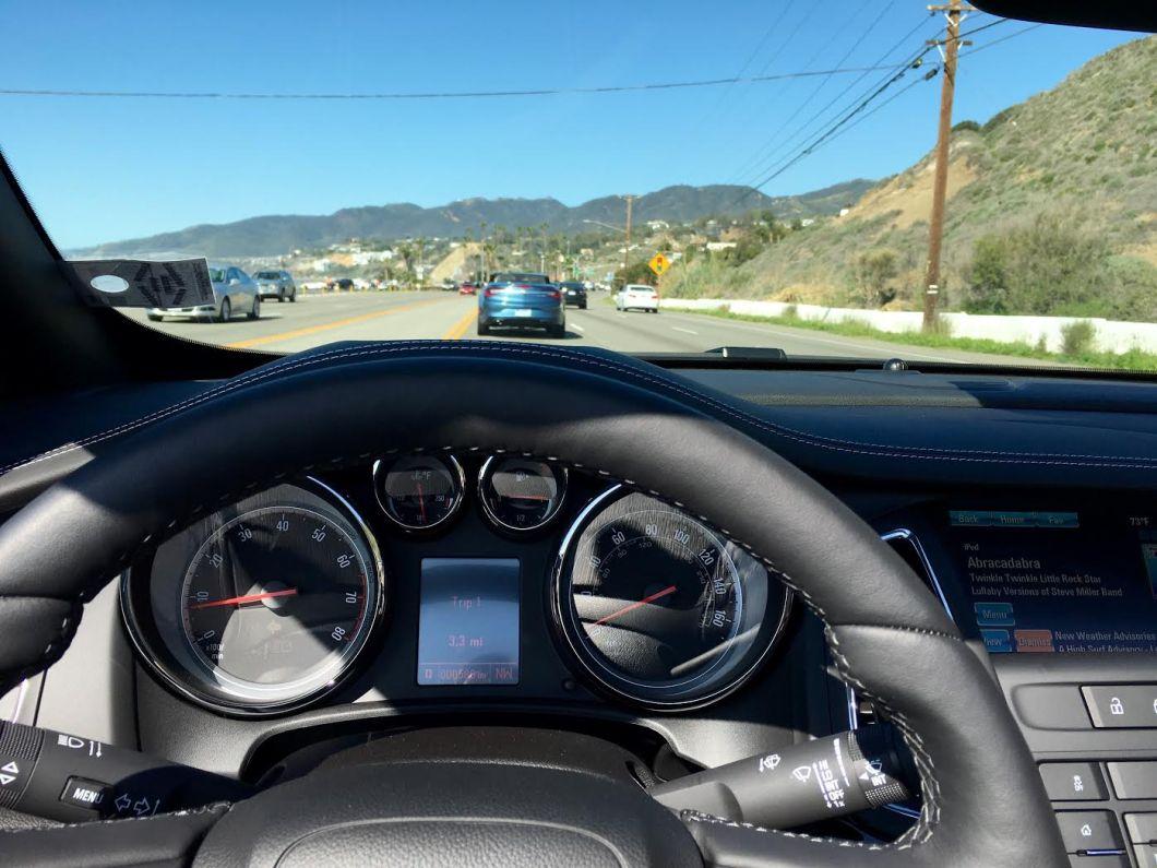 Buick Cascada Convertible Dashboard | The JetSet Family