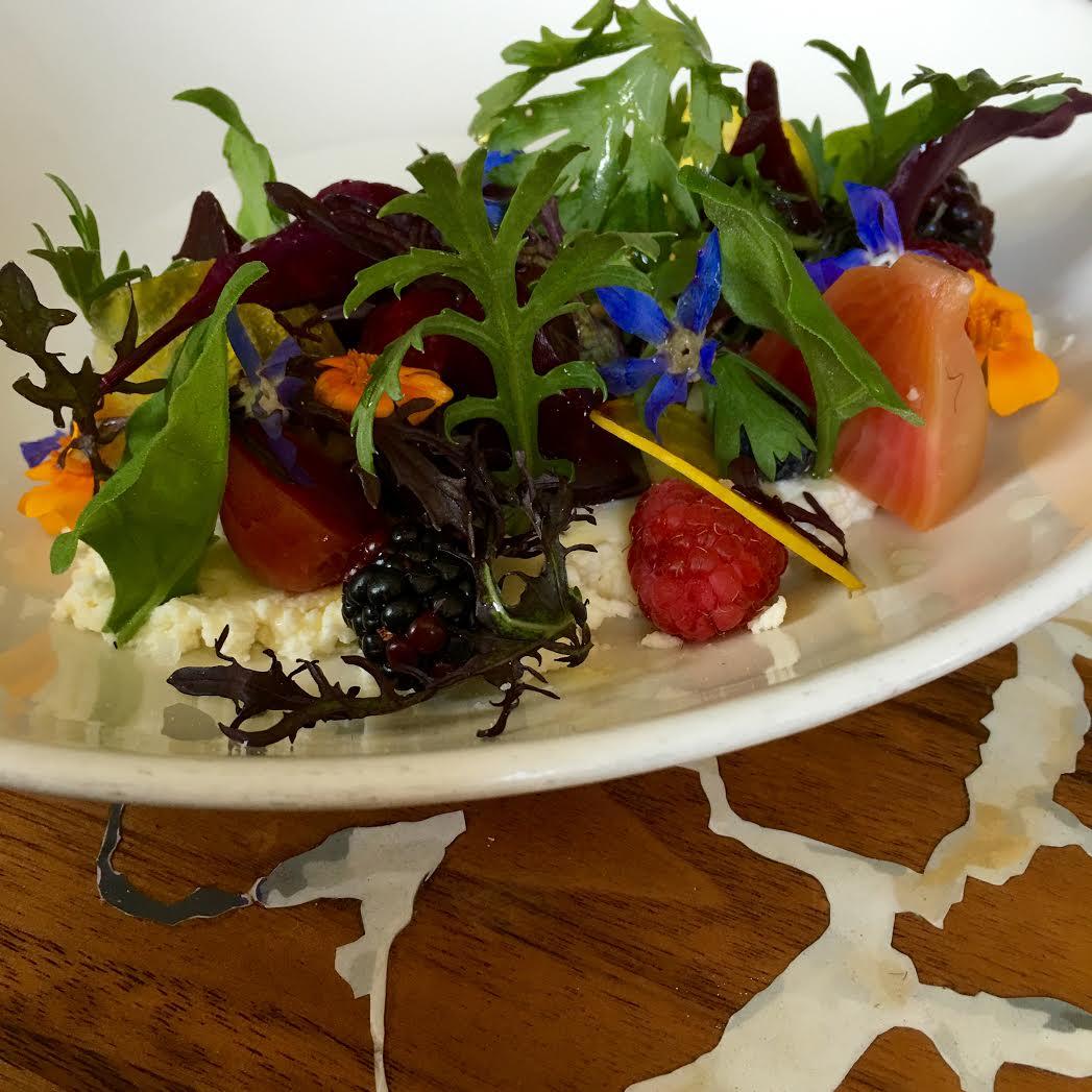 Girasol Restaurant Spring Menu