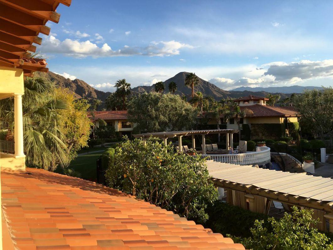 Villa View of Santa Rosa Mountains Palm Springs | The JetSet Family