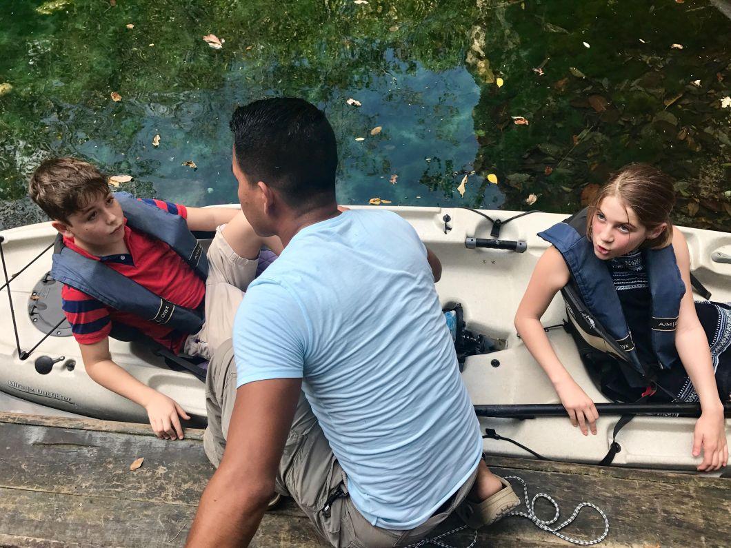 Camp Mayakoba Mexico Canoe Eco-Tour