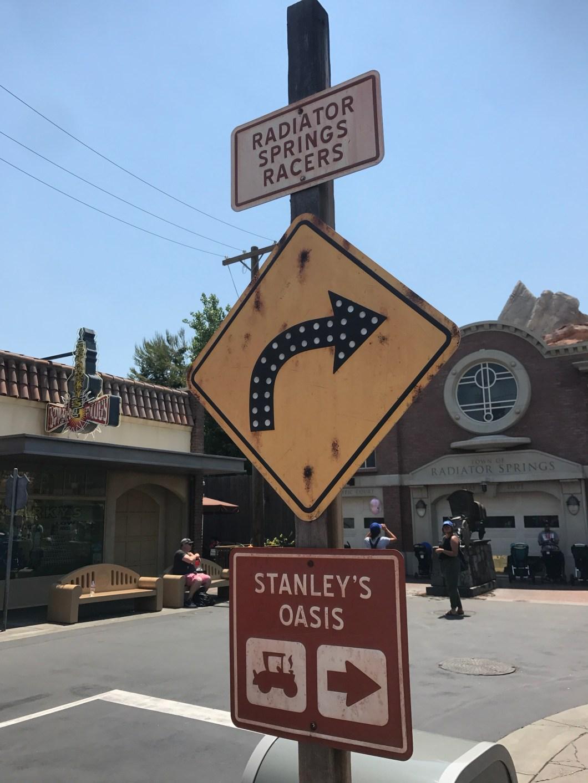 Stanley's Oasis Radiator Springs