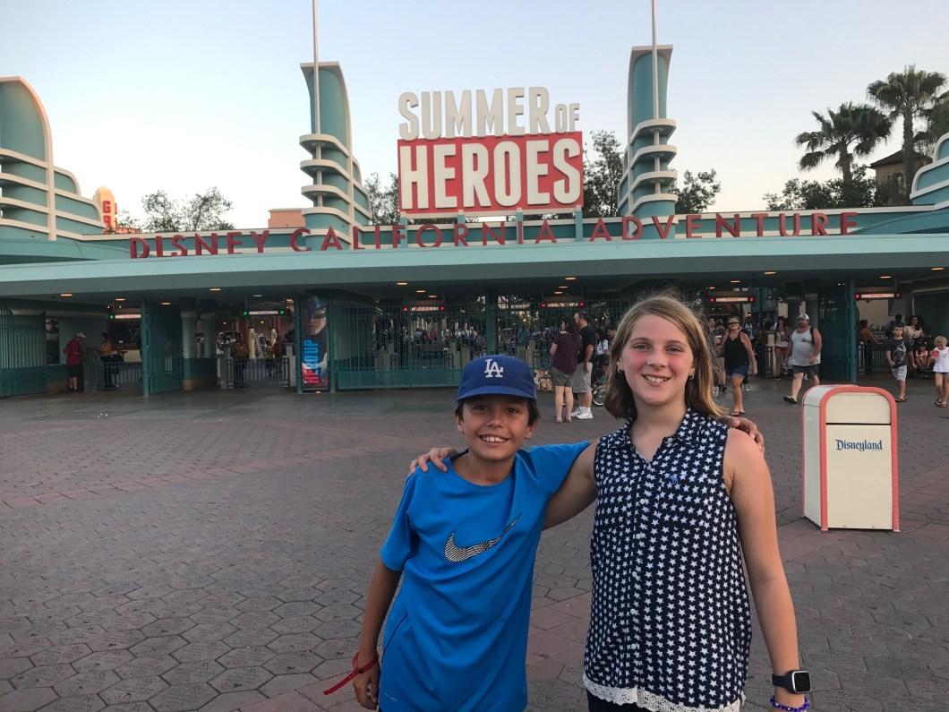 Summer of Heroes at Disneyland Resorts