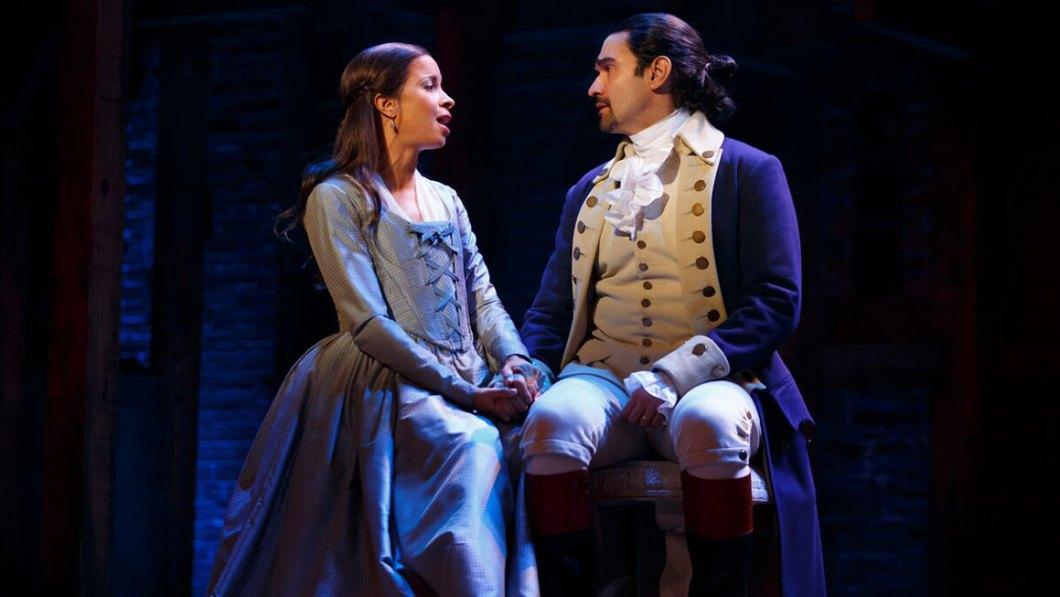 Javier Muñoz Alexander Hamilton on Broadway