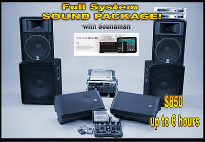 Full with soundman SOUND PACKAGE