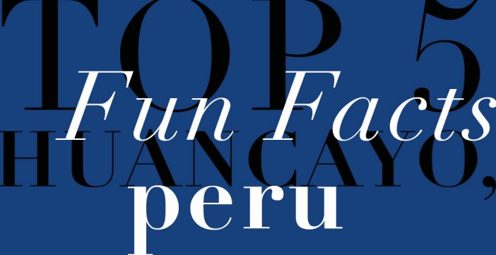 top 5 huancayo, peru