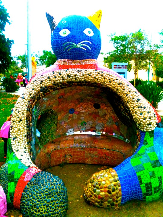 Magical Mosaics San Diego Showcases Niki De Saint Phalle