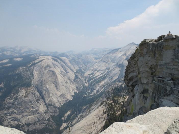 Anton Yosemite half dome view