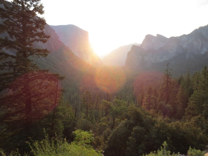 Anton Yosemite morning light