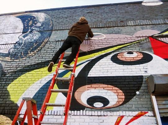 Ruben Swedish street artist