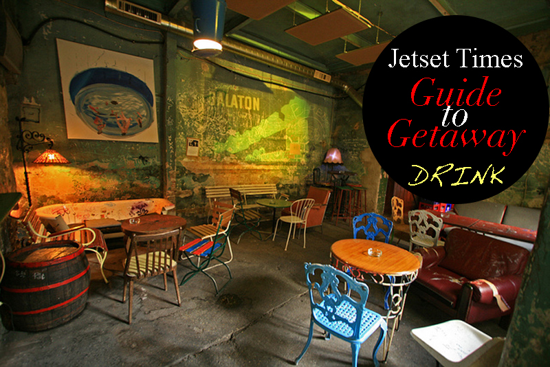 DRINK: Top 5 Ruin Pubs And Coolest Bars in Budapest