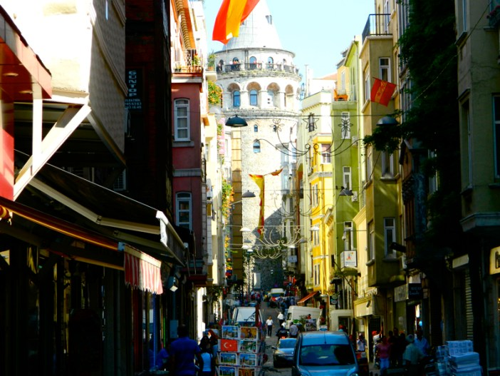 Galata Tower Istanbul Turkey 2