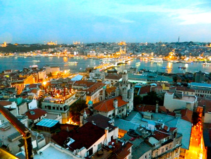 Galata Tower Istanbul Turkey 3