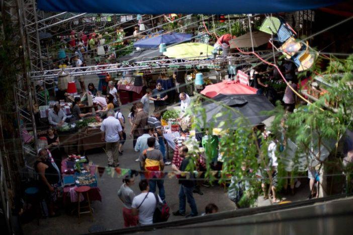 Szimpla Sunday Market Budapest Hungary