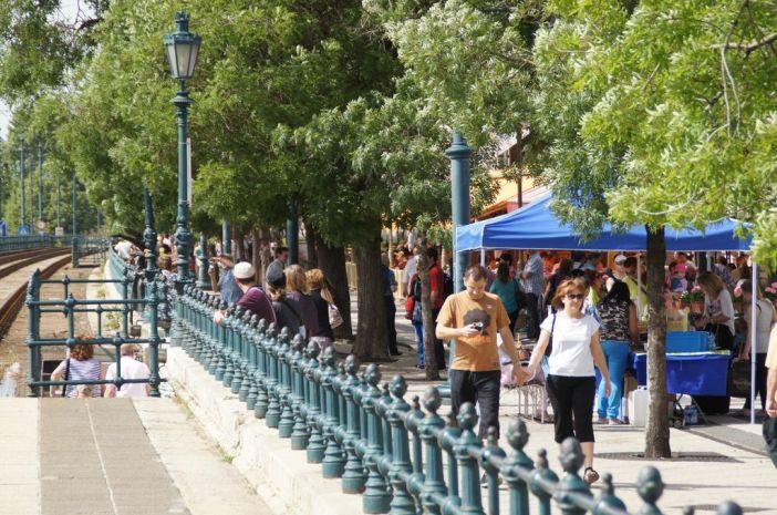 Walking Budapest Hungary