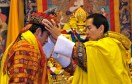 4. On 1 November 2008, the 4th King officially passed the throne to his son. The coronation was a giant celebration in Bhutan.