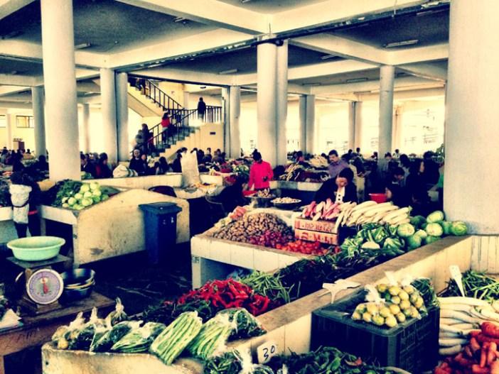 centenary farmers market thimphu bhutan