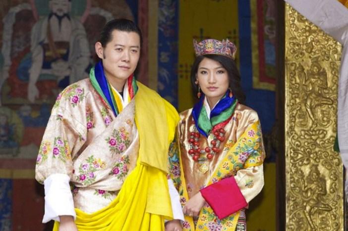 king queen bhutan