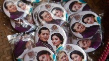22. The popularity of the royal couple can be seen in every store, on every souvenir. Even on every street corner, inside all buildings.