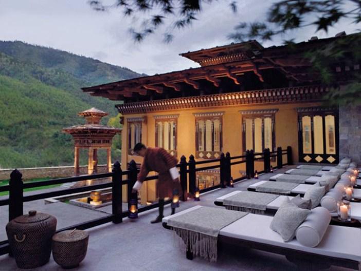 taj tashi hotel thimphu bhutan