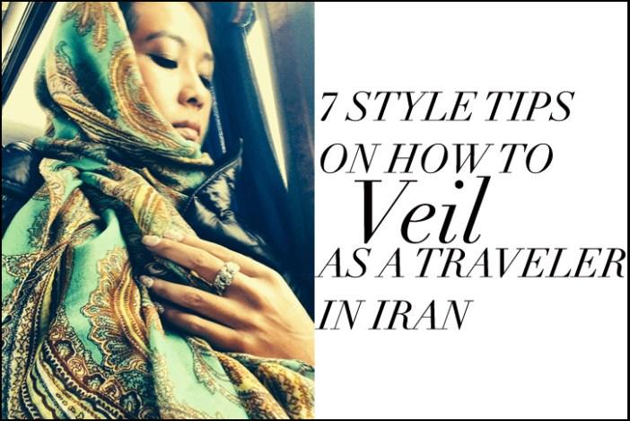 7 style tips scarf veil Iran