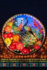 Chinese Lantern Festival Peacocks