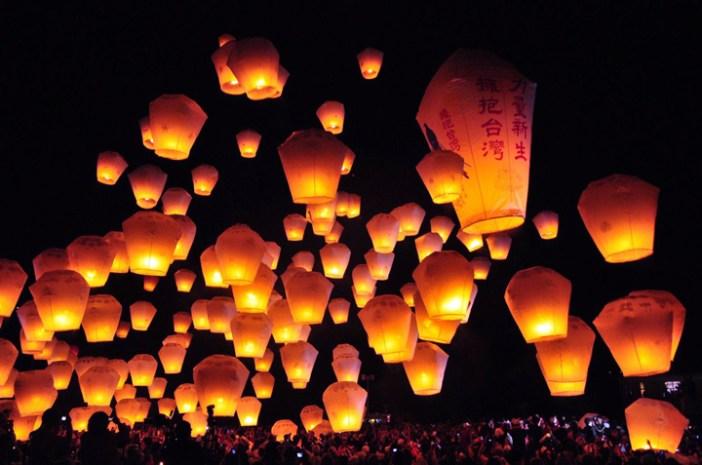 featured Taiwan lantern festival