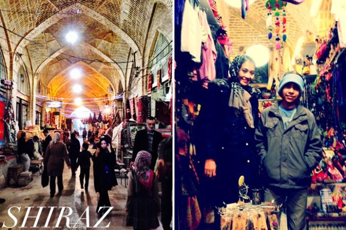 Iran, Shiraz leopard scarf